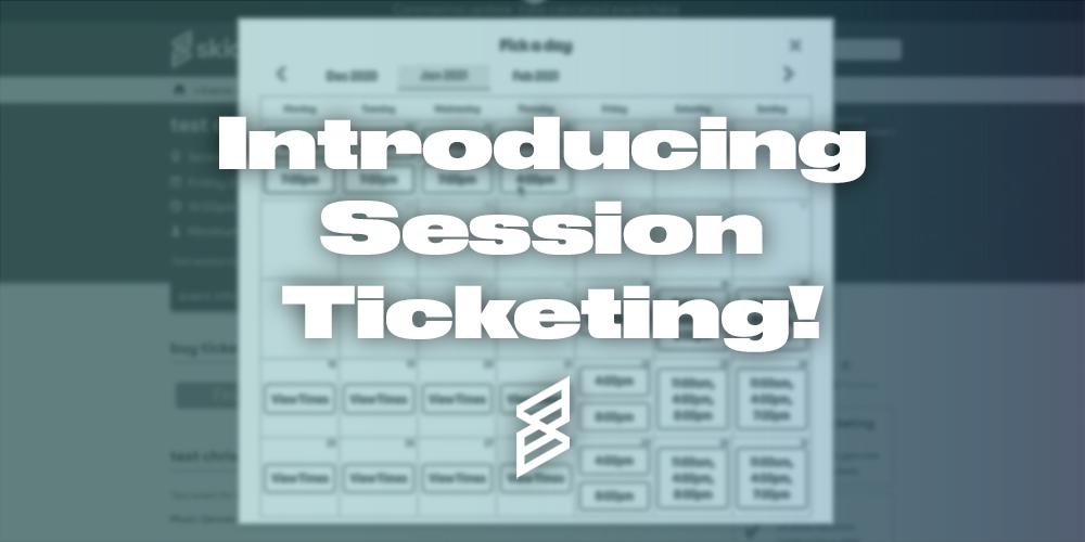Skiddle-session-ticketing