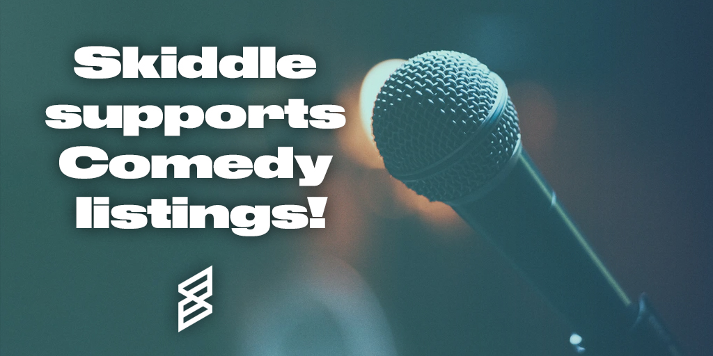 Skiddle-supports-comedy-listings